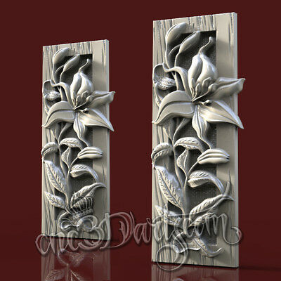 3D STL Model for CNC Router Carving Machine Printer Relief Artcam aspire Cut3D