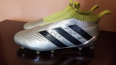 sports shoes d5f76 7546a ADIDAS ACE 16+ Purecontrol FG Soccer football boots accelerator US 8.5 UK 8