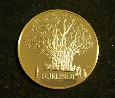 United Nations Burundi  Sterling Silver Medal Nations Unies Naciones Unidas