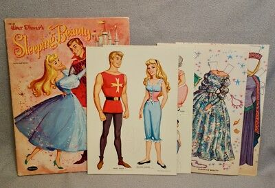 1959 4 nursery dolls tri folder whitman paper doll book uncut rare