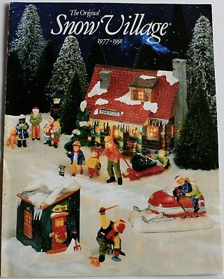 The Original Snow Village 1977-1991 Collectors Guide Book by Department 56, Inc