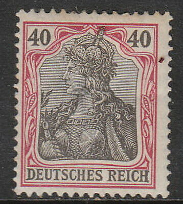 Stamp Germany Reich Mi 075 Sc 072 1902 Germania Empire Imperial Crown Post MH