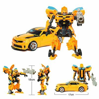 for Transformers Bumblebee Action Figures Robot car Autobot Model Reissue toy S4