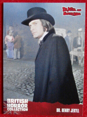 BRITISH HORROR COLLECTION - Dr Jekyll & Sister Hyde - DR HENRY JEKYLL - Card #37
