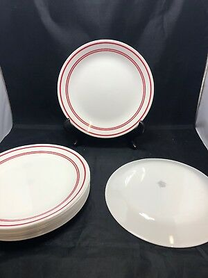 Corelle Classic Cafe Red 4 Cereal Bowls And 4 Dessert Plates 3 Red
