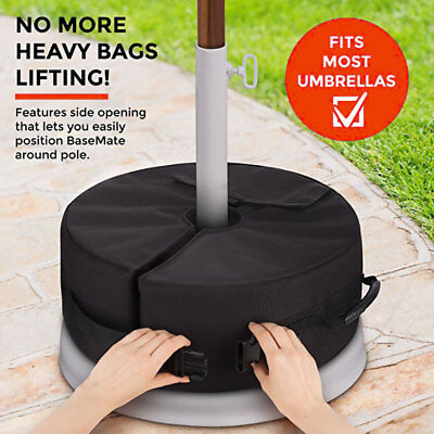 Weight Sand Bag For Umbrella Base Stand Wind-proof Wheel Tent Bags Outdoor Patio