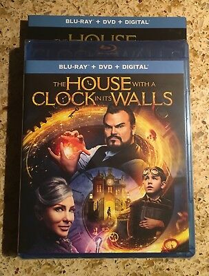 THE HOUSE WITH A CLOCK IN ITS WALLS Blu-Ray + DVD + Digital (2018)
