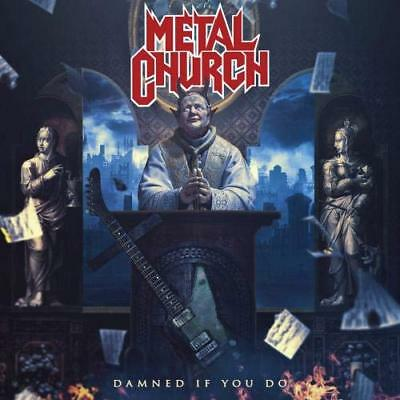 2018 Japan 2 Cd Metal Church Damned If You Do Deluxe Edition