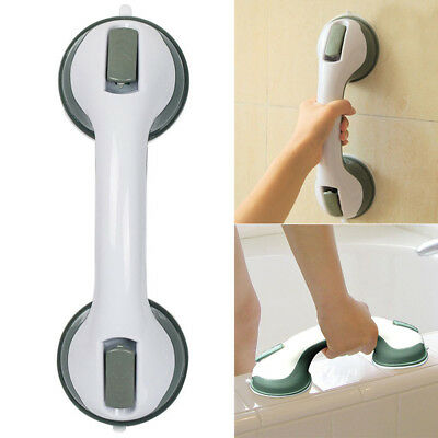Safety Home Suction Cup Handle Handrail Grab Bathroom Grip Tub Shower Bar Rail