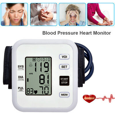 Digital Automatic Upper Arm Blood Pressure Monitor Best Intellisense 99 Memory