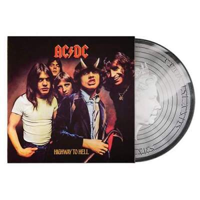 2018 Cook Islands $2 AC/DC Highway to Hell 1/2oz Silver Foil Proof-like Coin