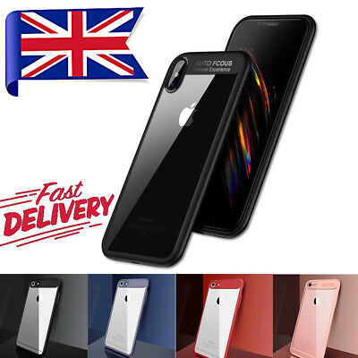 Luxury Ultra Slim Shockproof Hybrid Silicone 360 Case Cover for iPhone Phones UK