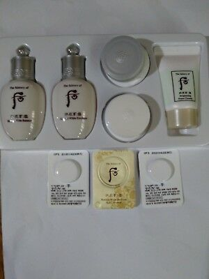 The history of whoo seol Radiant White Gift Kit 5items+Whoo Spot correctors 3pcs