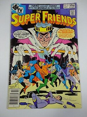 Super Friends Issue #25 Oct 1979 RARE DC Comics Comic Book Superman Batman Robin
