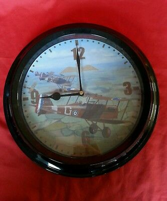 "RAF 1940 ""Battle of Britain"" Wall Clock 12"" / 30cm"