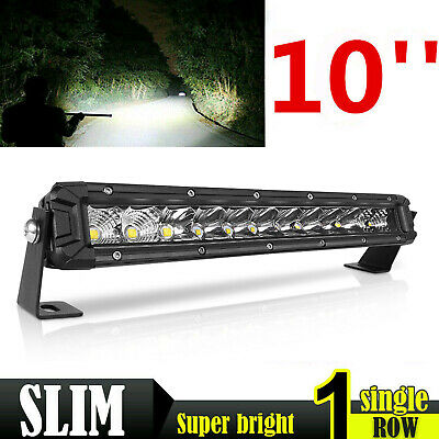 "544W Slim Led Light Bar 2Rows 12inch Spot Flood Combo Off Road SUV ATV 14"" 13"""