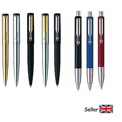 Brand New 100% Genuine Parker Vector Gold, Silver, Matt Black Ball Pen  Gift Box