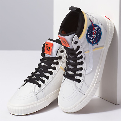 lower price with new style promo code NASA X VANS SK8-Hi 46 MTE DX Space Voyager True White ...