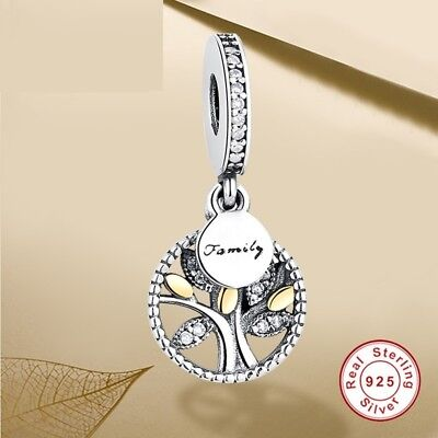 Pandora Charm Bracelet Bead Sterling Silver Luxury Authentic Jewelry Accessories