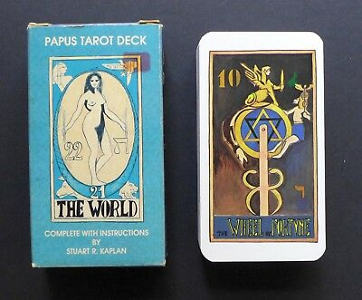 Vintage Papus Tarot Cards US Games 1982