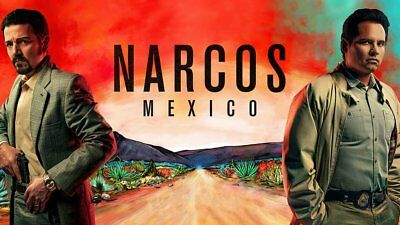 NARCOS 4 -MEXICO-4dvd's y 10cap.  FROM INTERNET-ENGLISH with SPANISH subt.