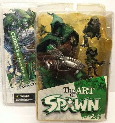Curse 2 The Spawn Bible Art Of Spawn Series 26 McFarlane Toys Figure 2004