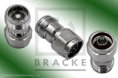 N Male to 4.3/10 DIN Female Low PIM adapter BRACKE BM50901