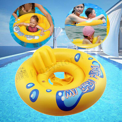 Inflatable Baby Infant Kids Seat Aid Swimming Pool Float Tube Ring Swim