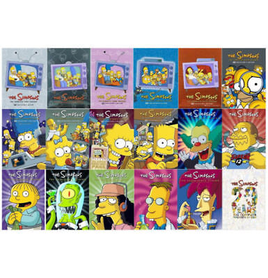 The Simpsons Complete Animated TV Series Seasons 1-18 20 DVD Set 60 day warranty