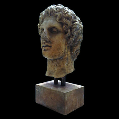 Alexander the Great large bust Sculpture Replica Reproduction
