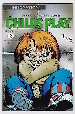 Child's Play #2   Innovation 1991  Chucky