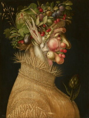 Giuseppe Arcimboldo Summer Giclee Art Paper Print Paintings Poster Reproduction