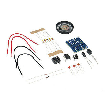 Perfect Doorbell Electronic DIY Kit for Home Security 6V PCB 3.9 x 3.5 cmChic YZ