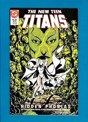 New Teen Titans #43 (May 1988) Nm