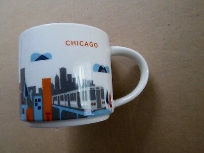 Starbucks You Are Here Collection Coffee Mug Chicago 2012