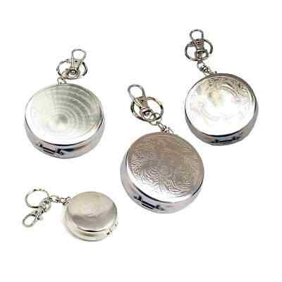 Portable Key Ring Ash Tray Leaf Pocket Keyring Ash tray Ashtray Kj