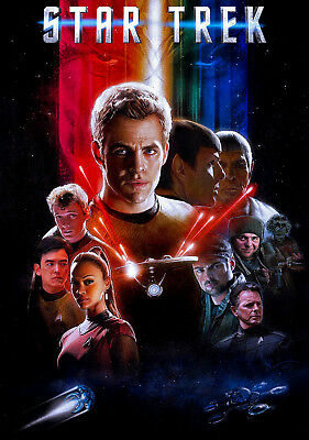 Star Trek Original TV Show Series Art Silk Poster 24x36 24x43