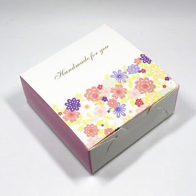 Many Size Cake Candy Christmas Gifts Pack Boxes Handmade Food Package Flower Box
