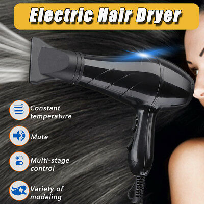 Electric 4000W Professional Hair Dryer Hot & Cold Blow Fast Heating Power Salon