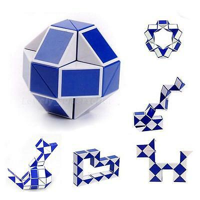 Toy Child Magic Snake Shape Toy Game 3D Cube Puzzle Twist Puzzle Toy Gift UK