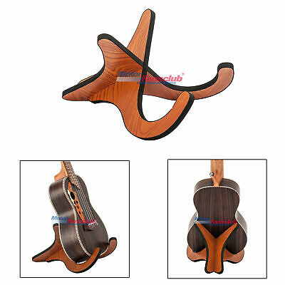 Wood Non-slip Guitar Stand Holder A Frame Universal Fits Acoustic Electric Bass