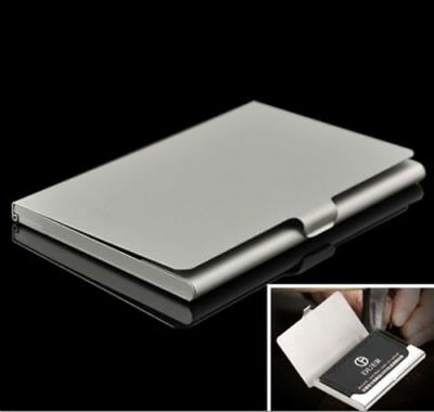 Metal Stainless Steel Pocket Business Name Credit ID Card Holder Case Box