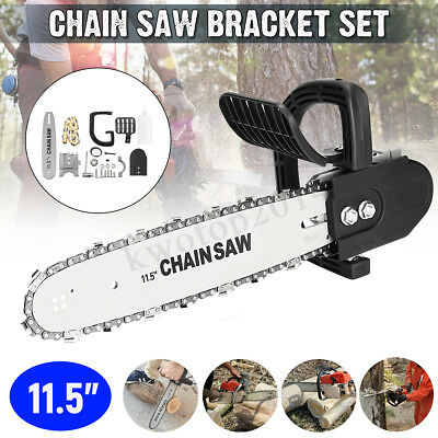 11.5'' Inch Woodworking Chainsaw Bracket Chain Saw Kit Set For Angle Grinder