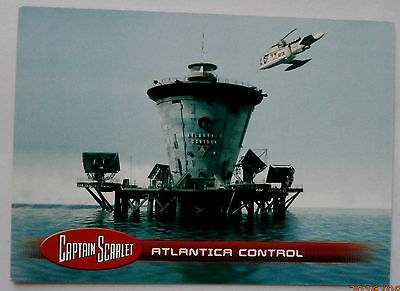 CAPTAIN SCARLET - Individual Trading Card #31, Atlantica Control - Unstoppable