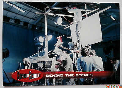 CAPTAIN SCARLET - Individual Trading Card #49, Behind The Scenes - Unstoppable