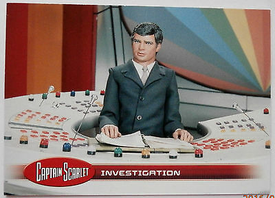 CAPTAIN SCARLET - Individual Trading Card #33, Investigation - Unstoppable Cards
