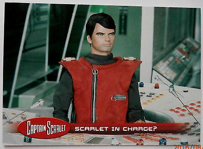 CAPTAIN SCARLET - Individual Trading Card #22, Scarlet In Charge? - Unstoppable