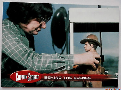CAPTAIN SCARLET - Individual Trading Card #46, Behind The Scenes - Unstoppable