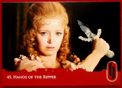 HAMMER HORROR - Series Two - HANDS OF THE RIPPER - Card #45 - Strictly Ink 2010