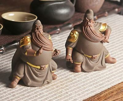 Guandi Gods Chinese Kung Fu Tea Set Tea Infuser Tea Strainer Office Accessories